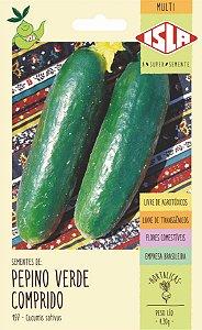 Sementes de Pepino Verde Comprido