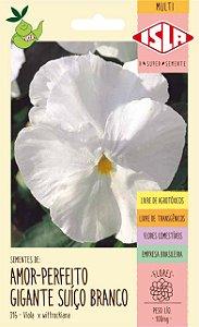 Sementes de Amor-Perfeito Suíço Branco