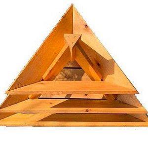 Canteiro em Forma de Pirâmide do Jardineiro Amador