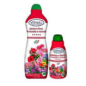 Fertilizante Liquido para Plantas e Flores de Varanda