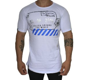 Camiseta Buh Travel Stamp