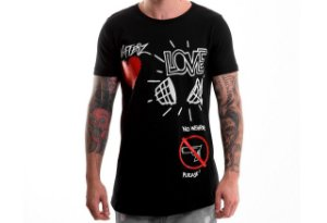 CAMISETA HATERZ LOVE$GUNS