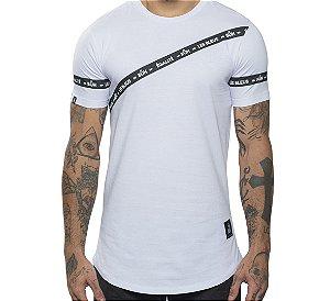 Camiseta Buh Faixa Egalité White