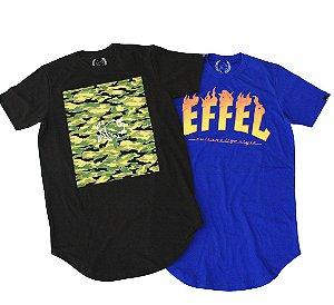 Camiseta Effel Culture Promoção 2 em 1