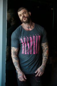 CAMISETA THE HOPE OVERSIZE NEON RESPECT