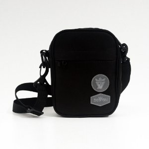 SHOULDER BAG BLACK CRYSTAL