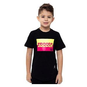Camiseta Buh Kids Soccer Color Black