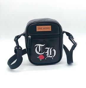 SHOULDER BAG ROSE - BLACK