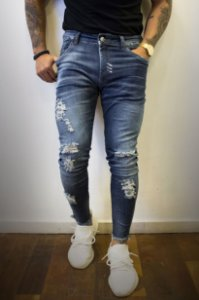 CALÇA CITY DENIM BEYOND HORIZON