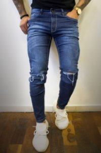 CALÇA EFFEL SPLASHED POCKET
