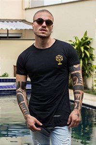 Camiseta Kreta Black Yellow Prism