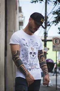 Camiseta Effel Mexican Skull