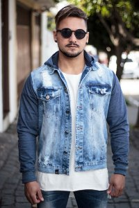 Jaqueta Effel Jeans Azul