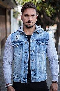 Jaqueta Effel Jeans Cinza