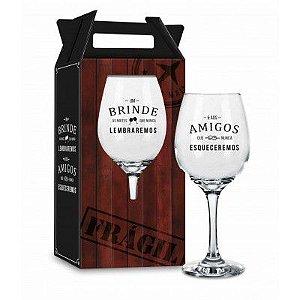 Taça de Vinho - Um brinde as noites que nunca lembraremos