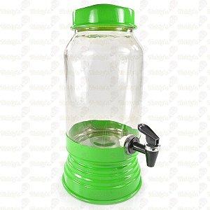 Suqueira de Vidro - Verde - 01 unidade
