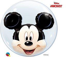 Balão Bubble com Mickey Mouse da Disney - 01 unidade