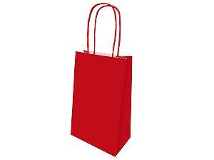 Sacola de Papel - Vermelho - 1 Pacote