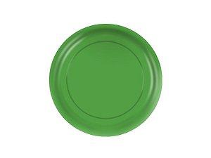 Prato de Papel - Verde - Pacote com 8 Unidades