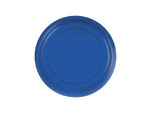 Prato de Papel - Azul Royal - Pacote com 8 Unidades