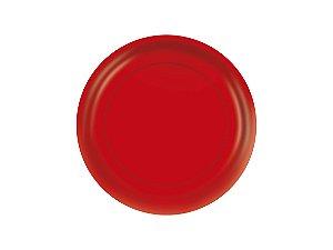 Prato de Papel - Vermelho- Pacote com 8 Unidades