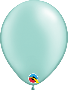 Balão de 5 Polegadas Verde Perolado Qualatex - 05 unidades - Kit Teddys
