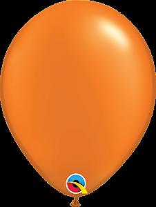 Balão de 11 Polegadas Laranja Qualatex - 05 unidades - Kit Teddys