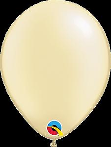 Balão de 11 Polegadas Marfim Qualatex - 05 unidades - Kit Teddys