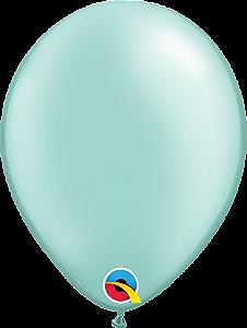 Balão de 11 Polegadas Verde Perolado Qualatex - 05 unidades - Kit Teddys