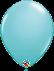 Balão de 11 Polegadas Azul Caribe Qualatex - 05 unidades - Kit Teddys