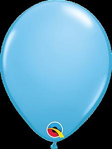 Balão de 11 Polegadas Azul Claro Qualatex - 05 unidades - Kit Teddys