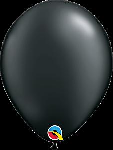Balão de 11 Polegadas Preto Perolado Qualatex - 05 unidades - Kit Teddys