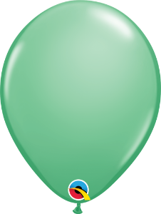 Balão de 11 Polegadas Verde Inverno Qualatex - 05 unidades - Kit Teddys
