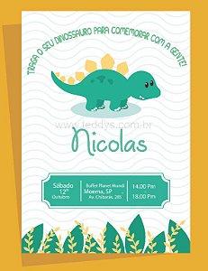 Convite Digital ou Impresso - Personalizado - Escolha seu Tema
