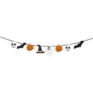 Faixa de Halloween Boo - 01 unidade