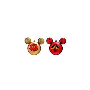 Bola de Natal Disney - Mickey e Minnie