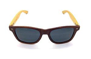 Óculos de Sol de Acetato com Bambu Vincent