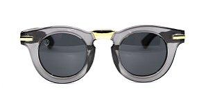 Óculos de Sol de Acetato com Bambu Carlota Grey