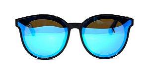 Óculos de Sol de Acetato com Bambu Bugs Blue
