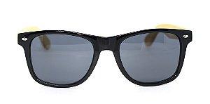 Óculos de Sol de Acetato com Bambu Maranzano