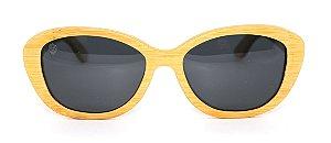 Óculos de Sol de Bambu Carmine