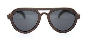 Óculos de Sol de Madeira Banion