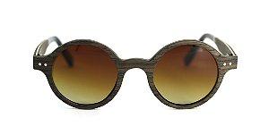 Óculos de Sol de Madeira Gotti Brown