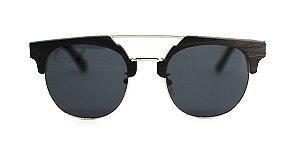 Óculos de Sol de Madeira e Metal Messina