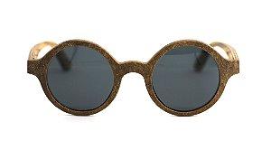 Óculos de Sol de Madeira Gotti Black