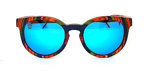 Óculos de Sol de Madeira Califa