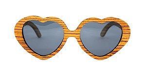 Óculos de Sol de Madeira Lucky