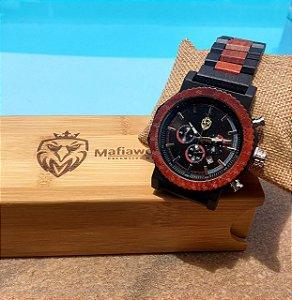 Relógio de Madeira Cítnos