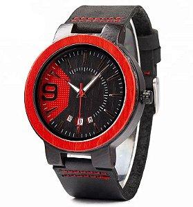 Relógio de Madeira Moran