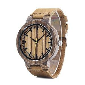 Relógio de Madeira Bang